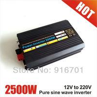 High Efficiency, Frequency Inverter 2500W/5KW Modified Sine Wave Power Inverter, DC24V-AC230V Car Power Inverter