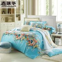 100% cotton four piece set 100% bedding cotton bedding duvet cover bed sheets 4