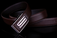 Septwolves Male Genuine Leather Leahter belt Classic Man Belts Automatic Buckle Strap Cowhide Belt 7A319159000-1
