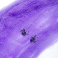 Halloween supplies bar decoration accessories multicolor spider spiderweb cotton