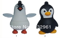 Bulk pen drive cartoon Christmas Penguin animal gift 4gb 8gb 16gb 32gb 64gb doll usb flash drive pendrive free shipping