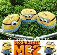 fashion 2013 summer hot sale Despicable Me minions plush hats toys in good quality Jorge Stewart Dave Cosplay cute cap best gift