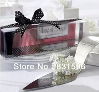 "Free Shipping ! 2013 High Quality ""Slice of Style"" Stainless Steel High Heel Cake Server Wedding Gifts  5PCS/set"
