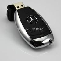 FCT65 Free Shipping gifts Benz car key plastic 8GB 16GB 32GB 64GB usb flash drives Storage Devices Electronics usb disk