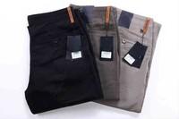 2013 Men thick pants.Brand name men winter trousers.Men casual winter pants with tags,labels.100% cotton pants..us size 40,42