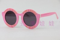 Women Sunglasses house of holland peggy 1211108 personalized letter plate sunglasses Pink Lettering style