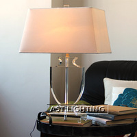 Scandinavian minimalist living room luxury crystal table lamp bedroom lamp hotel project MT002