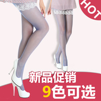 13d Core-spun Yarn pantyhose spring and summer ultra-thin basic female stockings multicolour basic