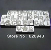 260pcs 8mm A-Z quadrate Slide letters DIY letters DIY Charm DIY Accessories