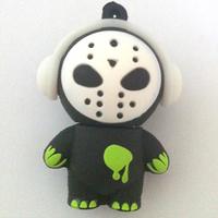 Terror Mask Cartoon Model USB 2.0 Memory Stick Flash Drive 4GB/8GB/16GB