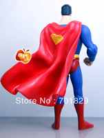 Free Shipping Superman Action Figures Toys 6inch PVC Model Dolls Gifts 50 pcs/lot