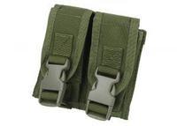 TMC Modular Pistol 2 Mag Pouch ( OD ) TMC0147