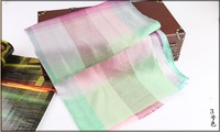 2014 New Brand Gradient Scarf Polyester Scarves Women Decoration