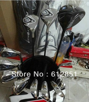JPX 825 Golf Complete Set Driver 9.5/10.5loft Fairway Woods Irons Graphite Shaft Regular/Stiff Flex Golf Clubs Set 12PCS