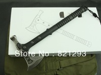 free shipping hammer and axe /3cr13mov blade nylon fiber material handle nylon sheath