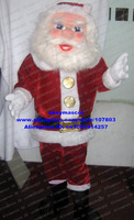 Christmas Santa Claus mascot costume Cartoon Character Mascotte Outfit Suit No.360 Free Shipping