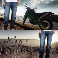 Jeans lovers gift table love high quality male jeans red