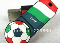 Free Shipping hot World Cup European Cup, Italy national football team logo, football team usb flash drive 1-32GB,  pendrives