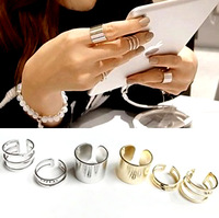 2013 new  free shipping Accessories ring star style 3 ring