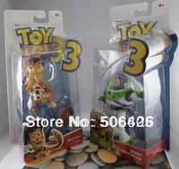 Toy Story 3 / Woody Sheriff + Buzz Lightyear toys 2pcs/set free shipping Retail