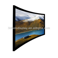 106 Inch Curved Frame Projector Screen/Curved Frame Screen 106 inch /Curved Screen for Cinema/Large Curved Frame Cinema Screen