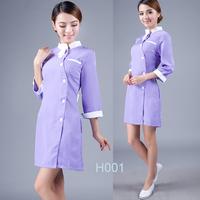 (10set-free ship) Medical  work wear clothing nurse clothing nurse clothing h001  female work uniforms wholesale