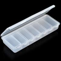 50pcs a lot gift supplies Qige seal kit calcium vitamin drug storage box portable drug box