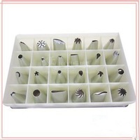 24 Icing Nozzles Pastry Tips Cake Decorating Sugarcraft