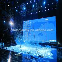 3D Holographic Display for stage/Eyeliner Foil/Holographic Projection System/Holographic Foil for stage/Eyelier Holo Foil