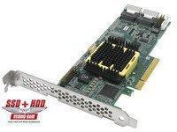 Adaptec RAID 2805 SATA / SAS 128MB PCI Express onboard RAM Controller Card, Single