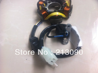 Free shipping 4 Wires 3plug + 1   Magneto coils for 6coils scooter