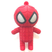 2G/4G/8G/16G/ 32G RED!Cartoon Characters Spider shape USB 2.0 memory stick Flash Drive