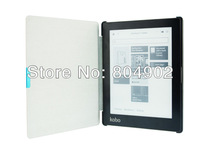 Ultra-slim PU Leather Kobo Aura Case pouch cover jacket for Kobo Aura 6 inch Smart cover 3 color free shipping