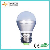 new design free shipping 50pcs/lot 3w 2700K 250lm nature white P45 E27 LED spotlight lamp