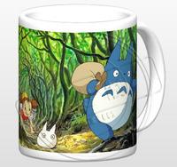 Ghibli Cup Anime cups Hayao Miyazaki cups Totoro totoro mug water cup discoloration gift  Free shipping