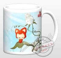 Ghibli Cup Anime cups Hayao Miyazaki cups Hyraxes ali mug water cup discoloration gift  Free shipping