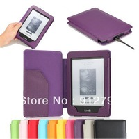 HOT SALE Free Shipping Protective Case PU Leather Cover for Amazon Kindle 4