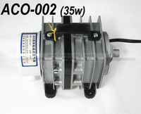 1set - Big Aquariums Air Pump, ACO-002(35w), powerful, Oxygenation, Oxygen Pumps - for aquaria fish -KPZHYNXH- Free Shipping