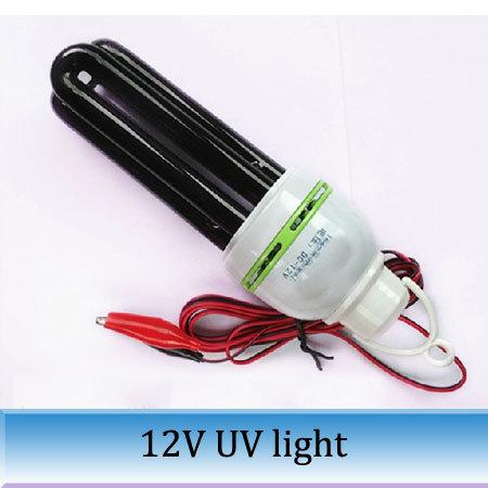 2PCS 25W 3U violet lamp agricultural Blacklight trap 12V violet energy-saving lamps ultraviolet germicidal light free shipping(China (Mainland))