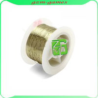 freeshipping 100M 0.11mm Golden Molybdenum Wire Cutting line For Iphone 4/4s/5/Samsung S4/S3 Glass LCD Screen Separator