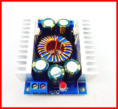 2pcs/lot DC/DC Max 12A Converter Buck Adjustable 4.5-30V 12V 24V to 0.8-28V 5V Step Down power supply module(China (Mainland))