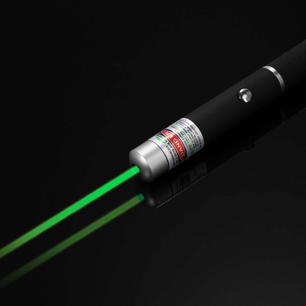 1Pcs 2014 YKS technology Pointer Pen Beam Light 5mw Newest Powerful Green Laser(China (Mainland))