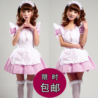 Free Shipping Akihabara maid restaurant uniforms cosplay costume