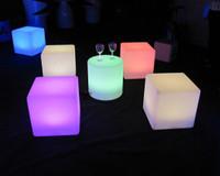 Fashion and Creative,30CM Led Cube,5050LED,Bar Chair