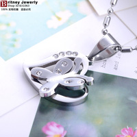 316L stainless steel necklace pendant,  Fashion necklace pendant,stainless steel necklace pendant jewerly BT165