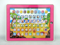 Free shipping y-pad russian language children's computer children's tablet educational toys 19cm*24cm