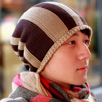 knitted hat male hat for man pros and cons of autumn and winter warm hat