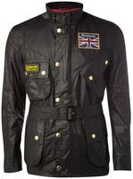 Fashion fashion Men 100% cotton coat jacket wadded jacket plus size wax jacket
