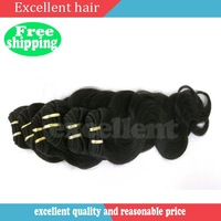 "Free Shipping DHL brazilian hair 4 bundles remy body wave product 10""-26"" new style human hair extension"