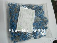 Blue color  ceramic disc capacitors 102M 4KV 102PF 4000V 20%